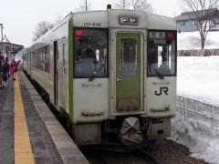 戸狩野沢温泉駅 飯山線