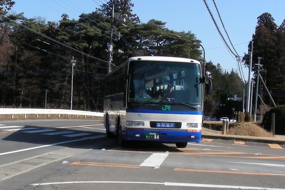塩原温泉JRバス