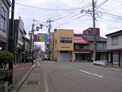 直江津駅前