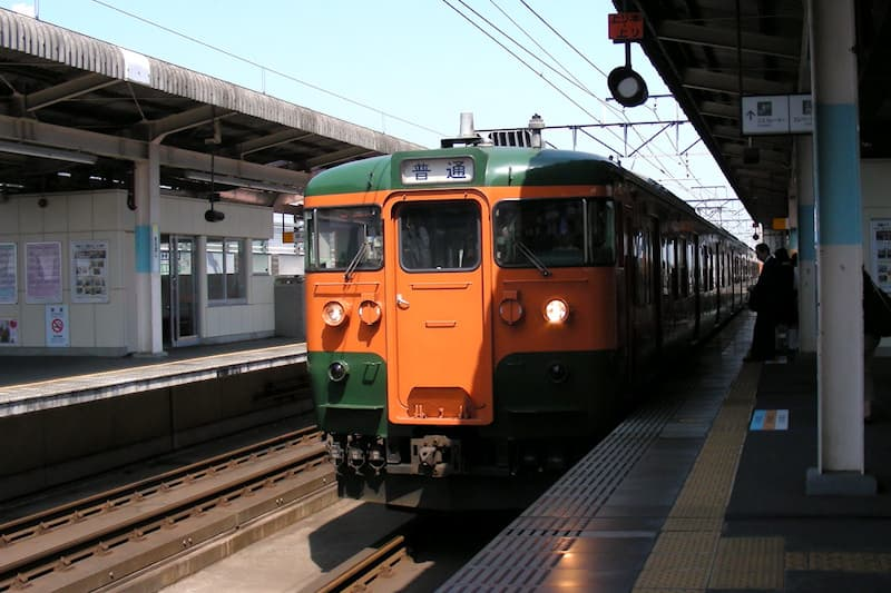 両毛線 前橋駅