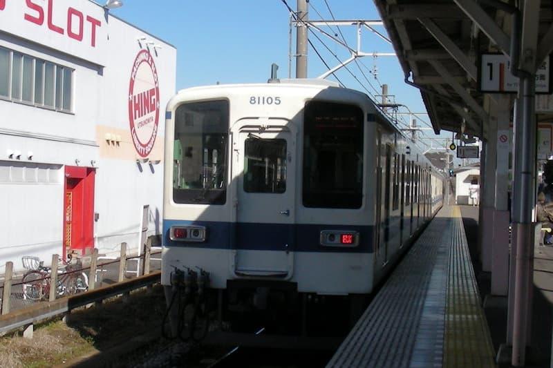 東武宇都宮線 江曾島駅