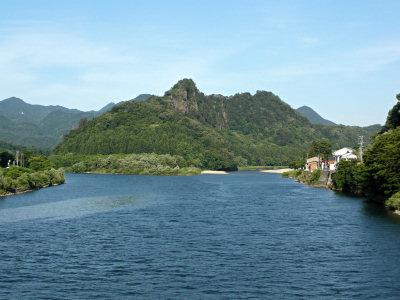 きりん橋からの麒麟山