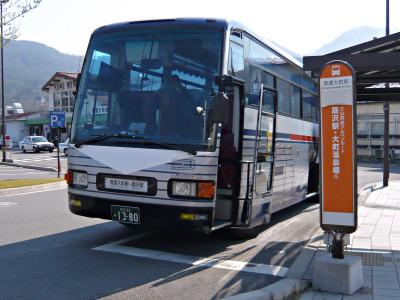 信濃大町駅 バス