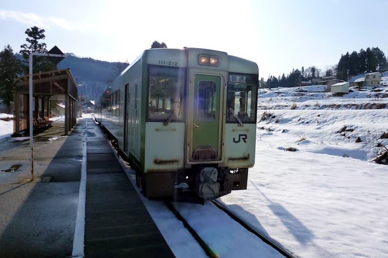 飯山線 上境駅