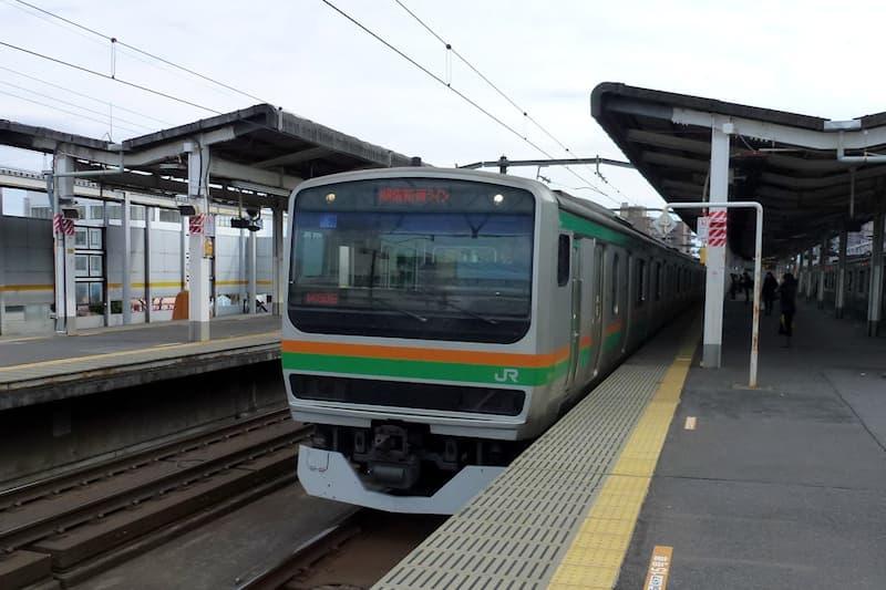 古河駅 湘南新宿ライン