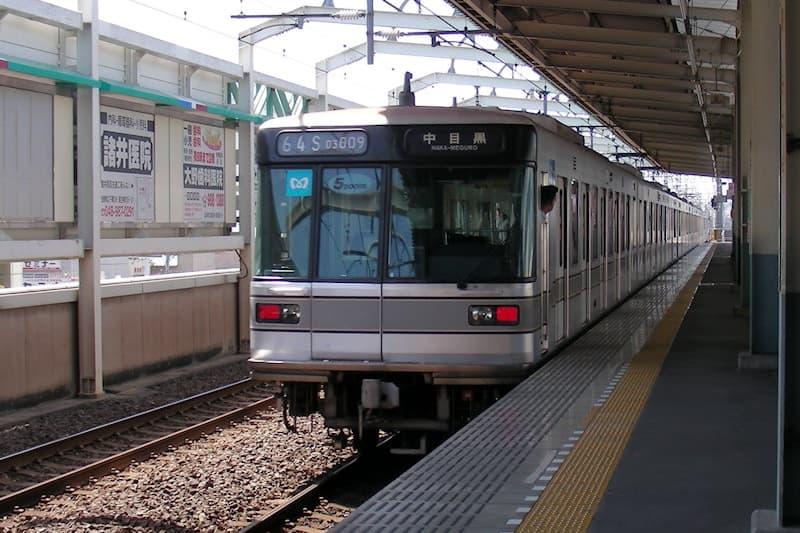 蒲生駅 日比谷線