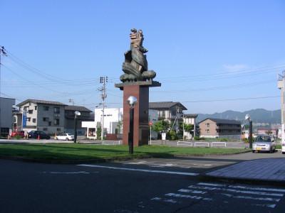 十日町駅西口駅前