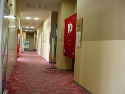 国民年金健康センター廊下