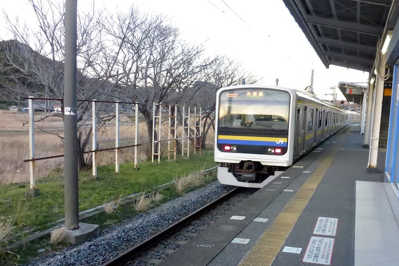 外房線 御宿駅