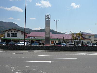 大糸線信濃大町駅