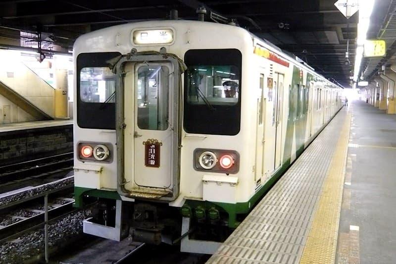 宇都宮駅 JR日光線