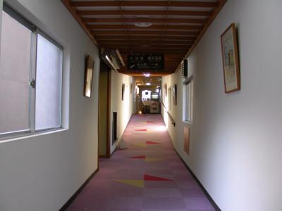 龍雲荘廊下