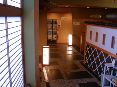 龍雲荘浴室入口