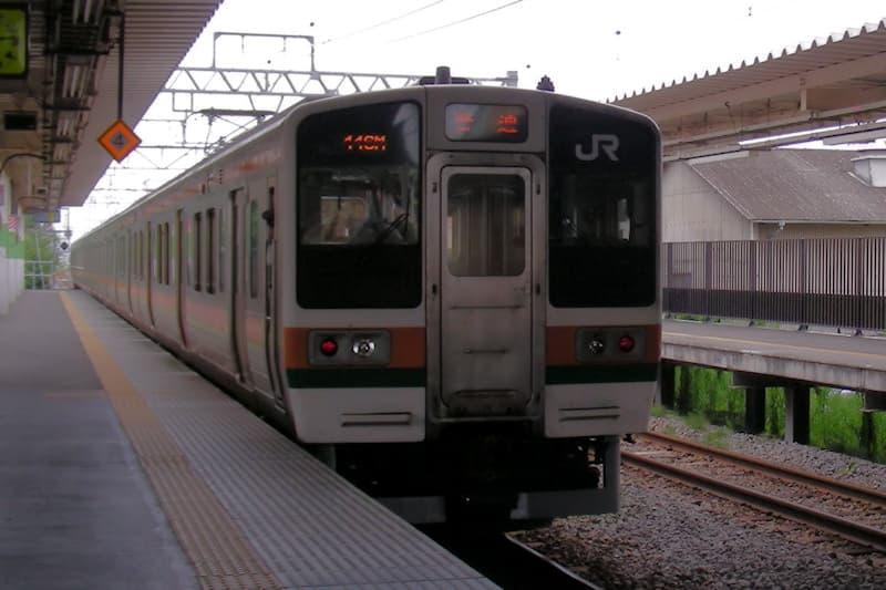 両毛線 前橋大島駅