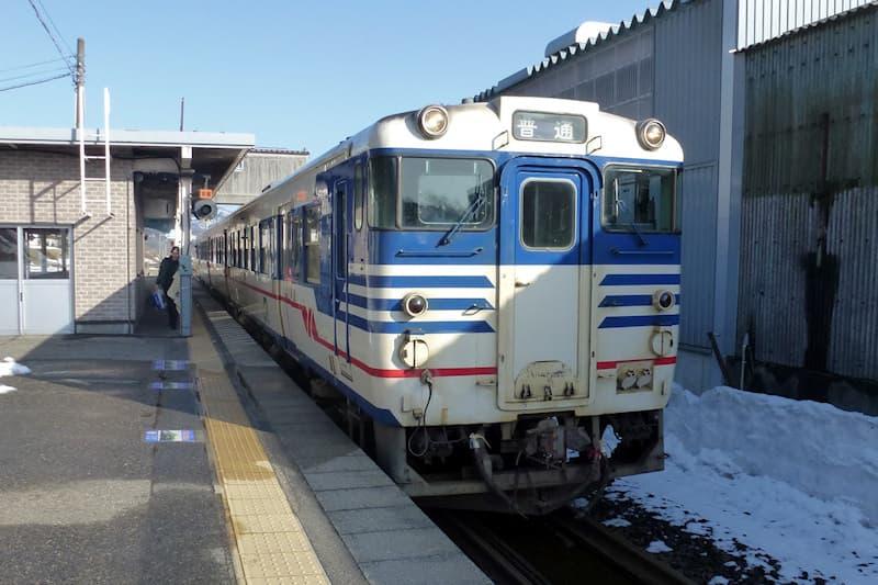 津川駅 磐越西線