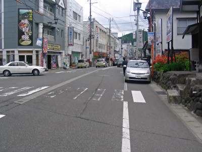 越後湯沢温泉街