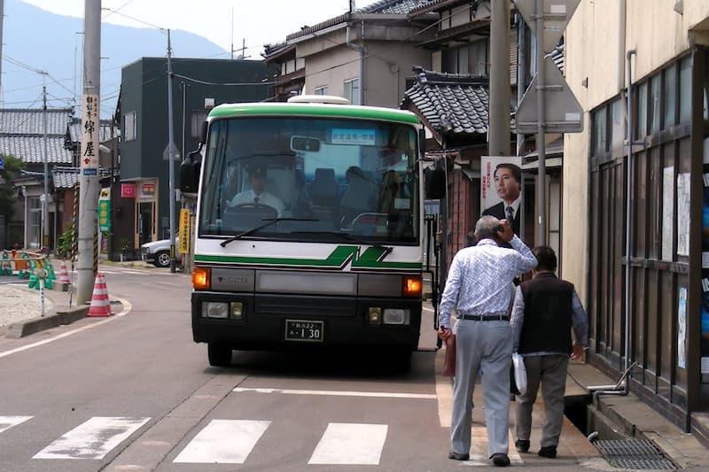 岩室駅 新潟交通観光バス