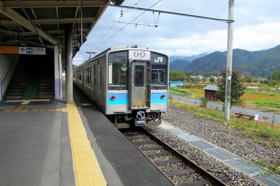 大糸線 白馬駅