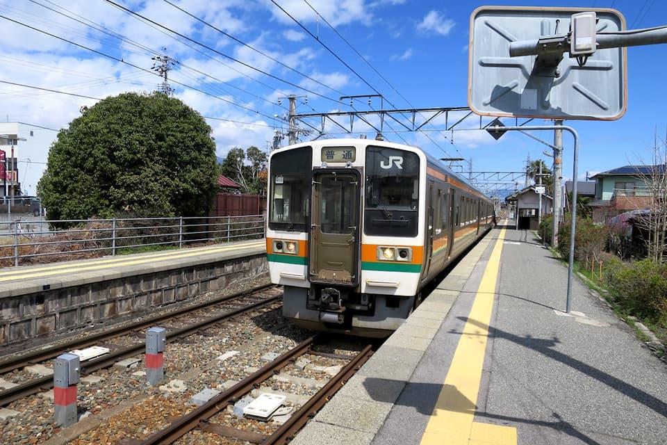 伊那八幡駅