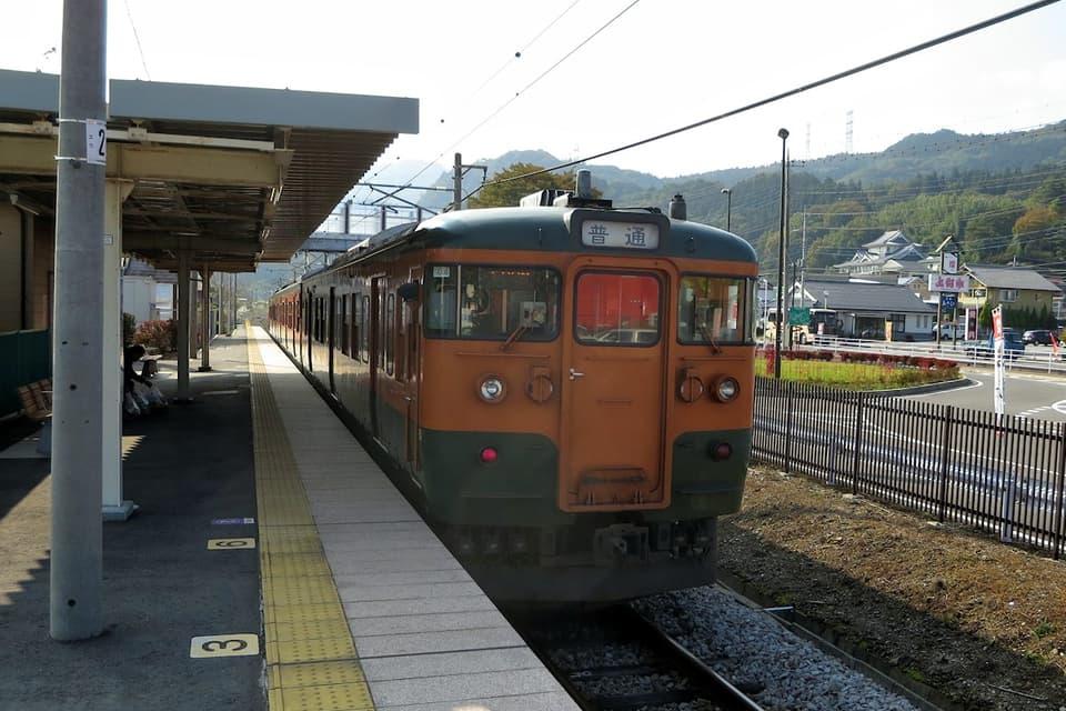 群馬原町駅 吾妻線