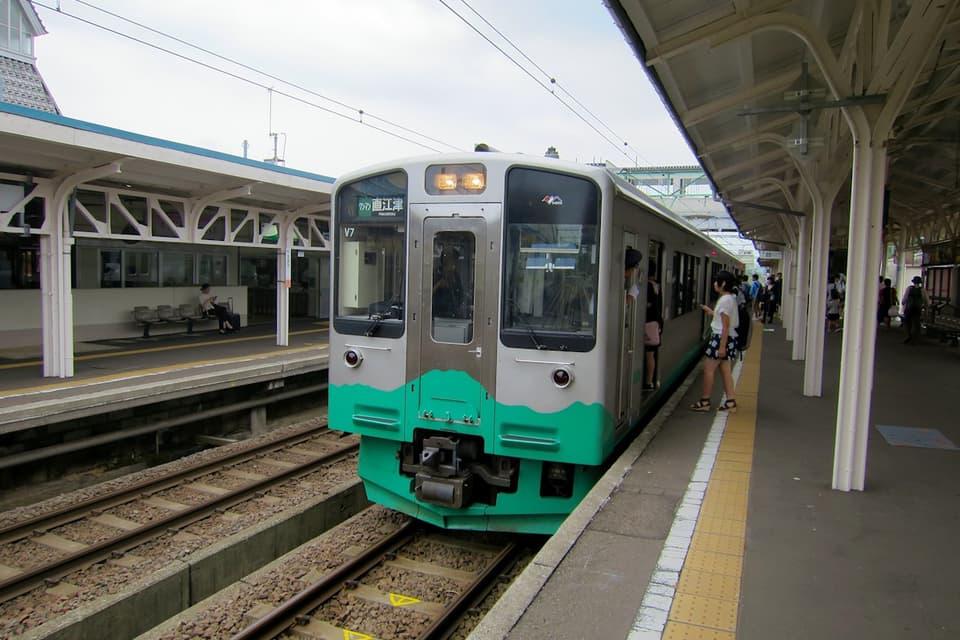 高田駅 えちごトキめき鉄道妙高はねうまライン