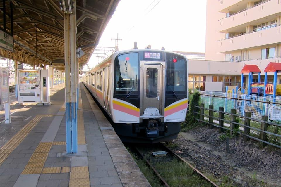 新発田駅 白新線