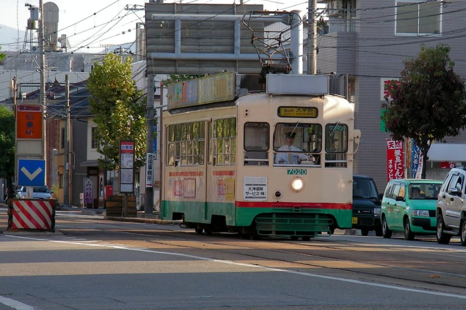 小泉町駅 富山軌道線
