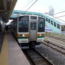 宇都宮線氏家駅から馬頭温泉郷の温泉めぐり (2012年5月)