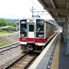 東武鬼怒川線 新高徳駅からの温泉巡り (2012年6月)