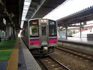 羽越本線の温泉めぐり (2013年9月)