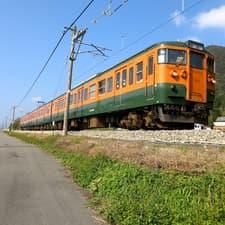 吾妻線と草津温泉 (2013年11月)