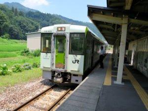 飯山線津南駅からの温泉めぐり (2014年8月)