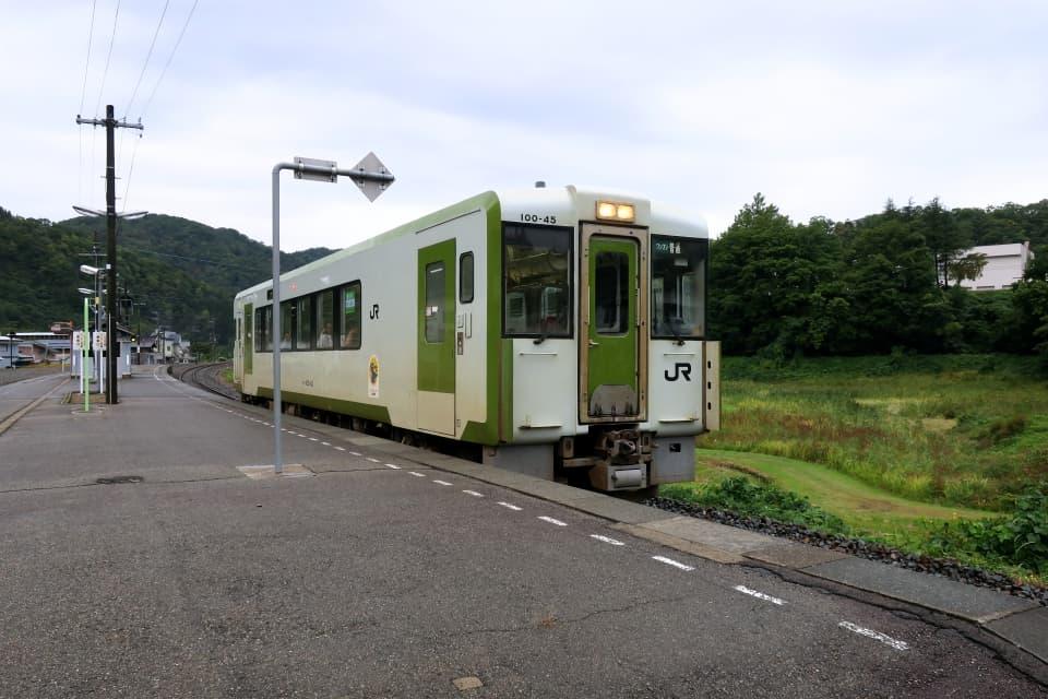 相野々駅 北上線