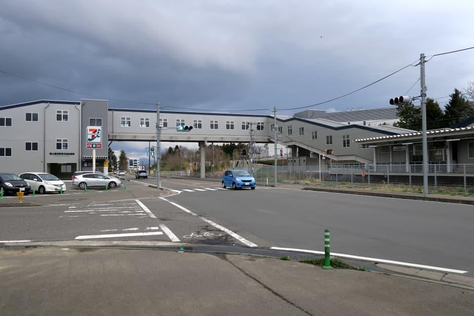 郡山富田駅 南北自由通路