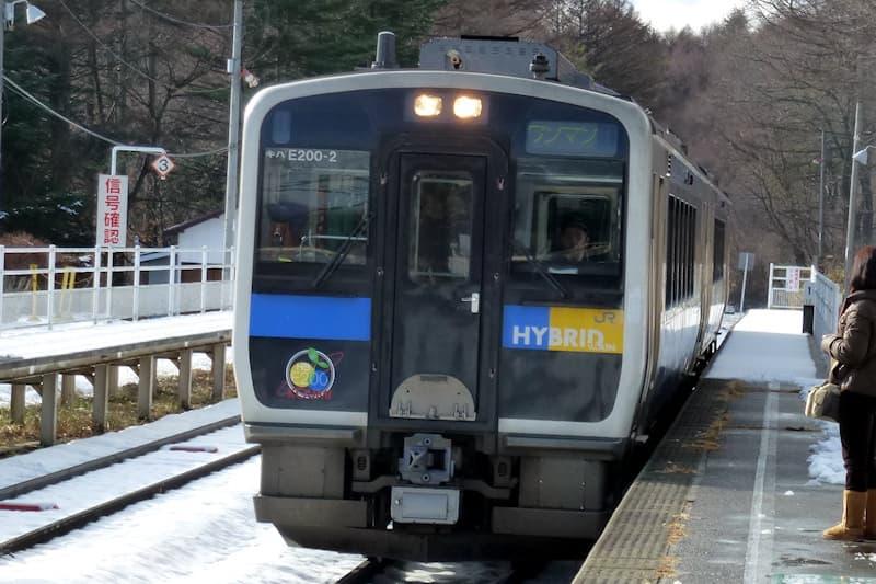 小海線 甲斐大泉駅