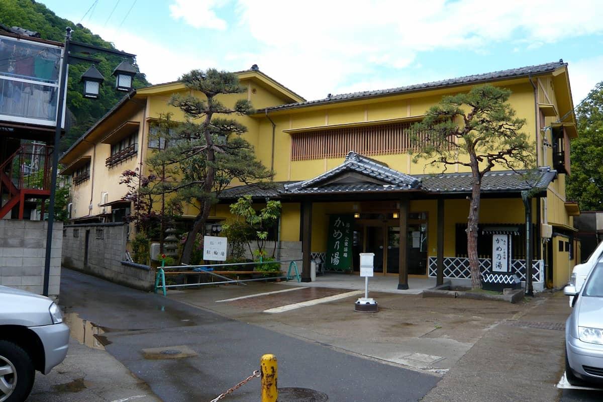 上山田温泉 かめ乃湯 (長野県千曲市)