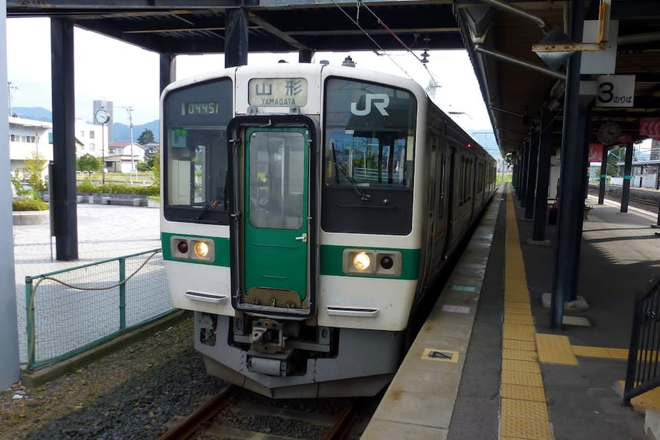 かみのやま温泉駅