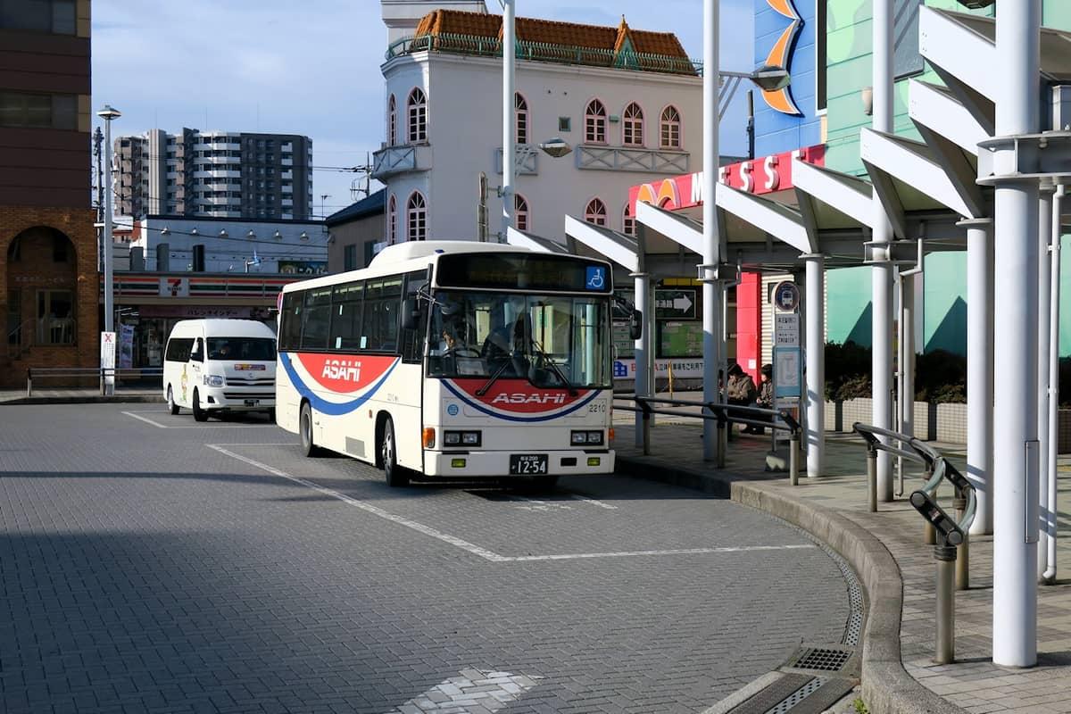 本庄駅 朝日バス