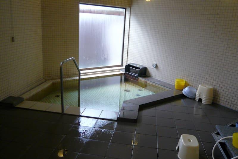 水上温泉 ふれあい交流館 浴室