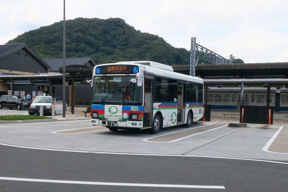 修善寺温泉行バス
