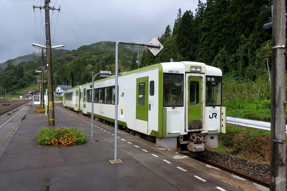 黒沢駅 北上線