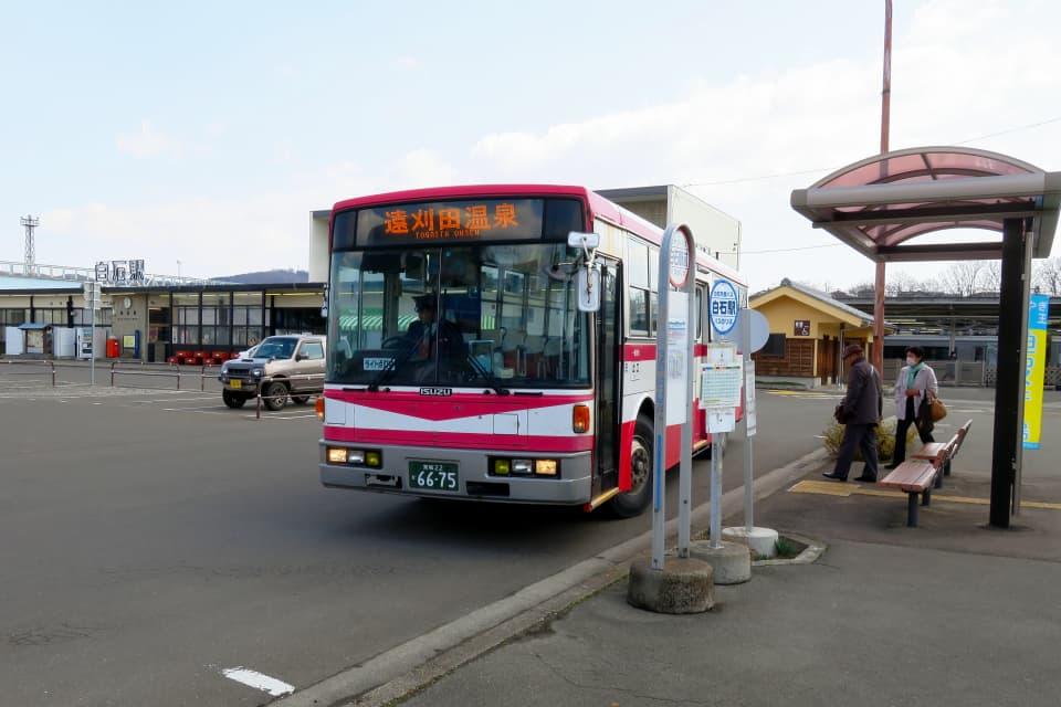 ミヤコーバス 遠刈田温泉