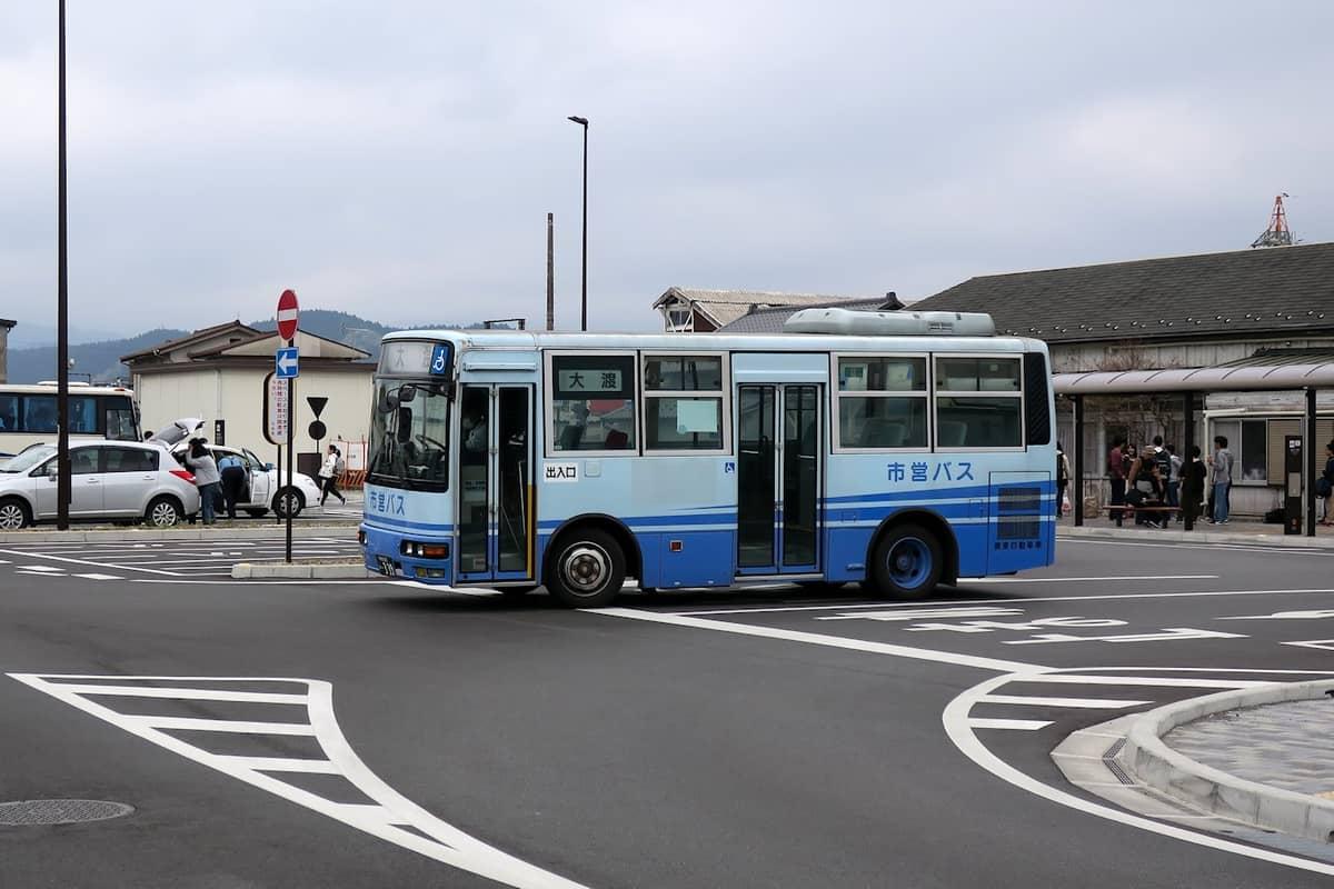 日光市営バス 大渡