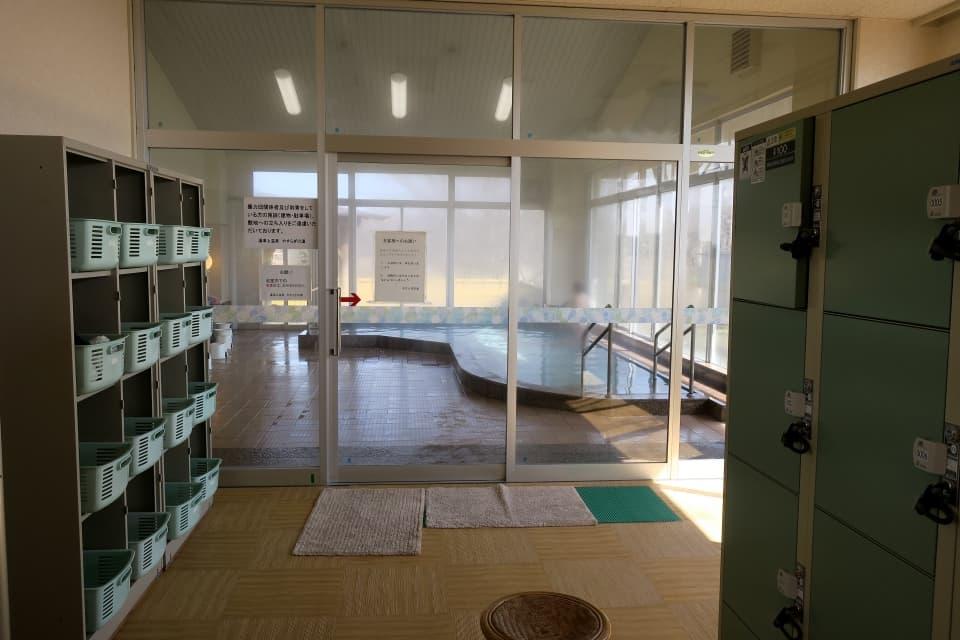 湯津上温泉 やすらぎの湯 浴室